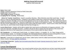 Making Sound All Around Lesson Plan
