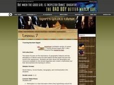 Touring Ancient Egypt Lesson Plan