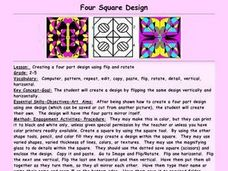 Four Square Design Lesson Plan