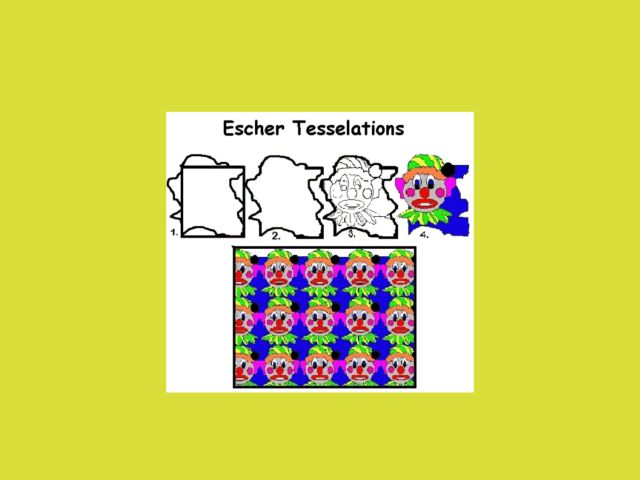 Escher Tesselations Lesson Plan