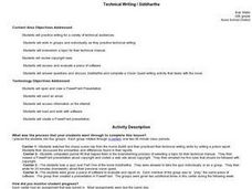 Technical Writing / Siddhartha Lesson Plan