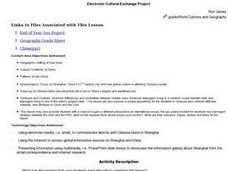 Electronic Cultural Exchange Project Lesson Plan