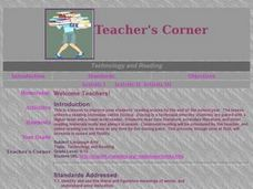 Welcome Teachers! Lesson Plan