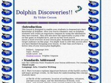 Dolphin Discoveries!! Lesson Plan