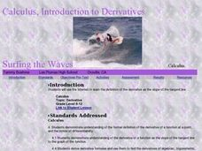 Surfing the Waves Lesson Plan