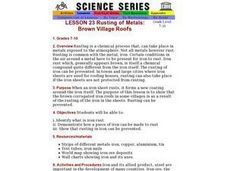 Rusting of Metals: Brown Village Roofs Lesson Plan