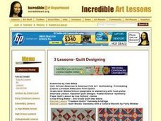 Linoleum Reduction Print Quilts Lesson Plan