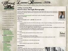 Rural Voices Through Photography Lesson Plan