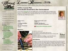 Household Chemicals & the Environment Lesson Plan