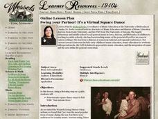 Swing Your Partner!  It's A Virtual Square Dance Lesson Plan