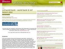 IMF/World Bank - World Bank & IMF Lesson Plan Lesson Plan
