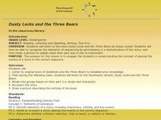 Dusty Locks and the Three Bears Lesson Plan