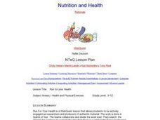 Run for your Health Lesson Plan
