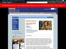 Negotiate Peace for India and Pakistan Lesson Plan