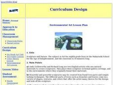 Sculpture and Nature Lesson Plan