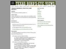 Texas Economics, Politics, and Society Lesson Plan