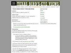Texas Industries Then and Now Lesson Plan