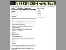 Where's the Point?: Two-Point Perspective in Texas Bird's-Eye Views Lesson Plan