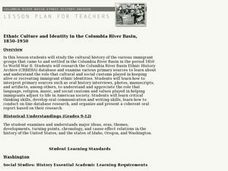 Ethnic Culture and Identity in the Columbia River Basin, 1850-1950 Lesson Plan
