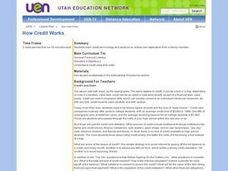 How Credit Works Lesson Plan
