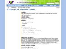 1st Grade - Act. 22: Retelling the Tiny Seed Lesson Plan