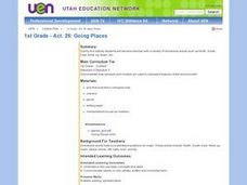 Environment: Going Places Lesson Plan
