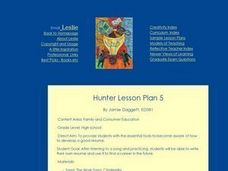 Hunter Lesson Plan 5 Lesson Plan