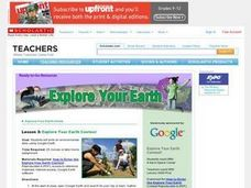 Explore Your Earth Contest Lesson Plan