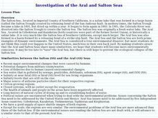 Investigation of the Aral and Salton Seas Lesson Plan