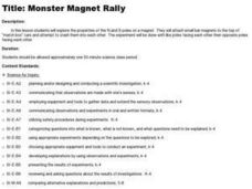 Monster Magnet Rally Lesson Plan