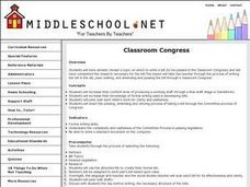 Writing and Amending Bills Lesson Plan