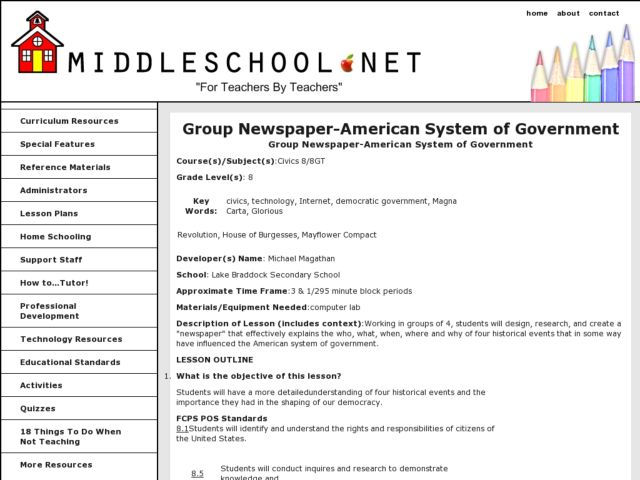 what is the american system of government