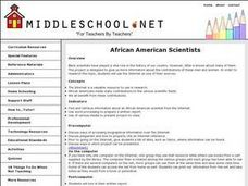 Black Scientists Lesson Plan