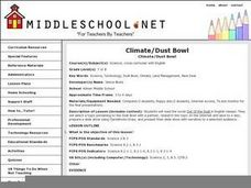 Climate/Dust Bowl Lesson Plan