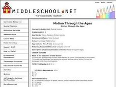 Motion Through the Ages Lesson Plan