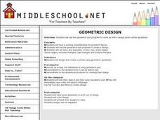 Geometric Design Lesson Plan