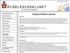 Original Children's Books Lesson Plan