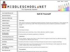 Sell It Yourself Lesson Plan