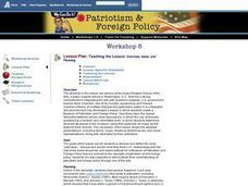 Patriotism and Foreign Policy Lesson Plan