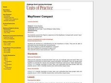 Mayflower Compact Lesson Plan