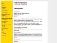 The Preterite Lesson Plan