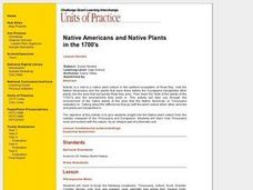 Native Americans and Native Plants Lesson Plan