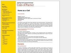 Home as a Cell Lesson Plan