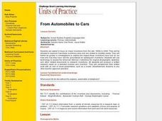 From Automobiles to Cars Lesson Plan