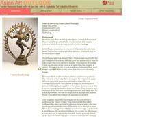 Nataraj Shiva as Lord of the Dance Lesson Plan