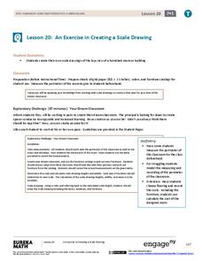 An Exercise in Creating a Scale Drawing Lesson Plan
