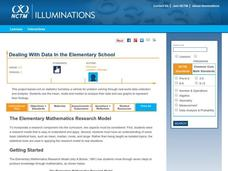 Dealing With Data in the Elementary School Unit