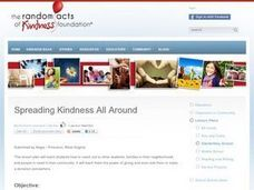 Spreading Kindness All Around Lesson Plan