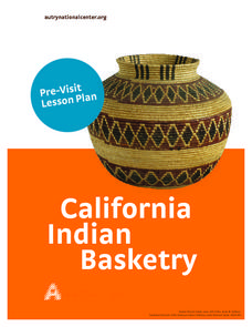 California Native American Basket Weaving Lesson Plan