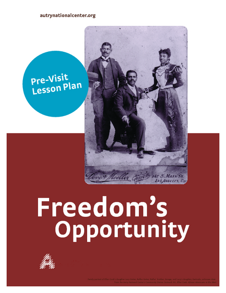 Freed Slaves Lesson Plan